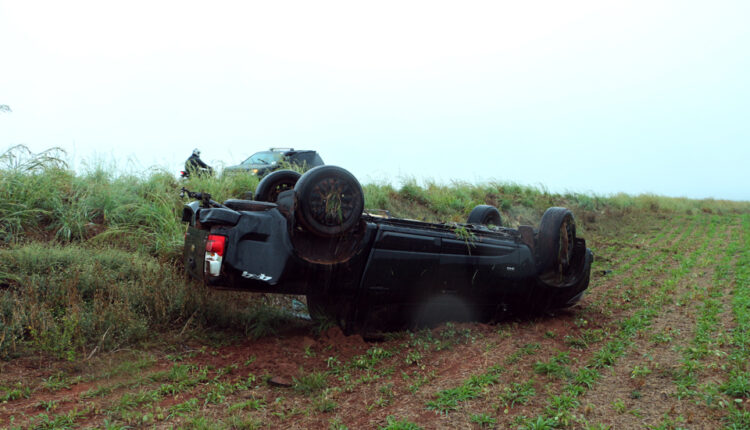 Chapadão do Sul: Aquaplanagem provocou acidente na BR 060